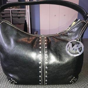 Black Stud Michael Kors Handbag